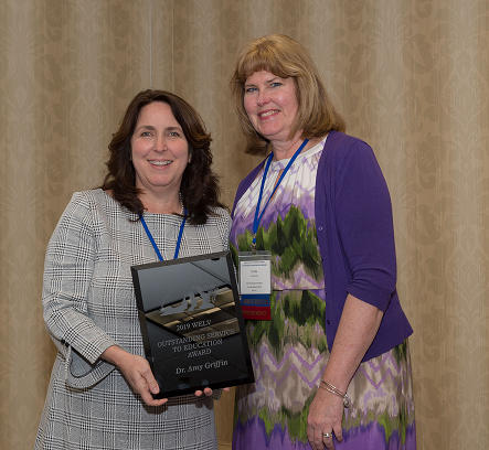 Dr. Amy Griffin - 2019 Outstanding Service to Education Award